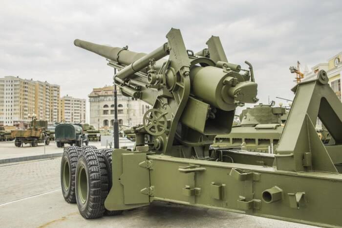 САУ вооружили пушкой М-64. /Фото: amp.topwar.ru.