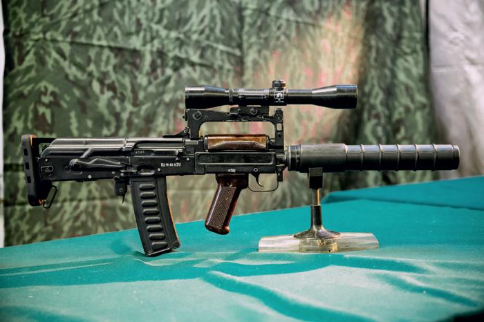 Стреляет патронами от Винтореза. /Фото: postila.ru.