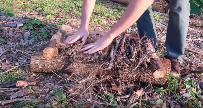 Самый долгий костер. /Фото: youtube.com.