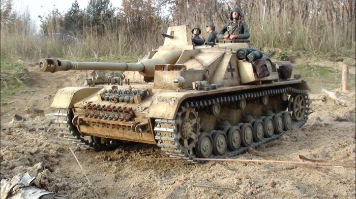 Штурмовые машины создавали и в Германии. /Фото: YouTube.