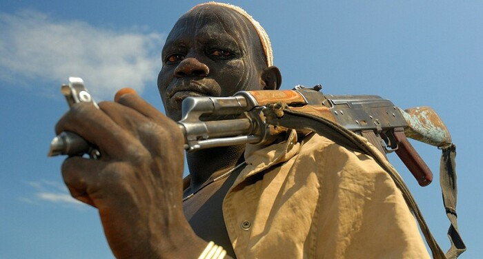 Оружие ставшее символом холодной войны. /Фото: forum.guns.ru.