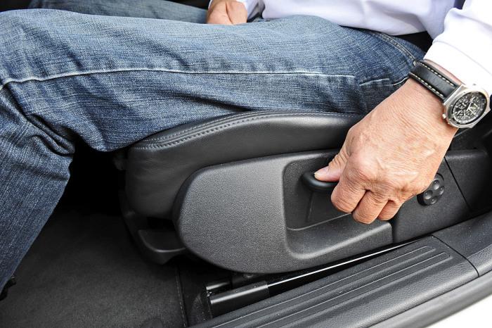 Настрой кресло как надо! /Фото: autobild.de.