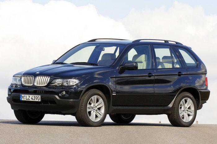 Сразу отказываемся от BMW X5 E53.