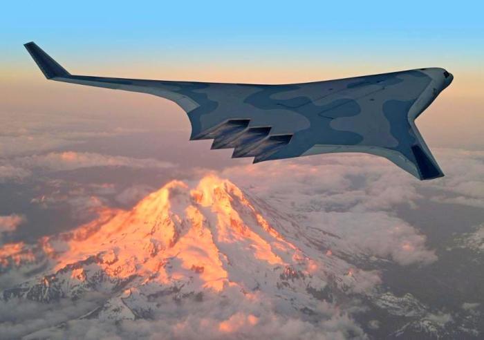 Перспективный самолет. /Фото: 42.tut.by.