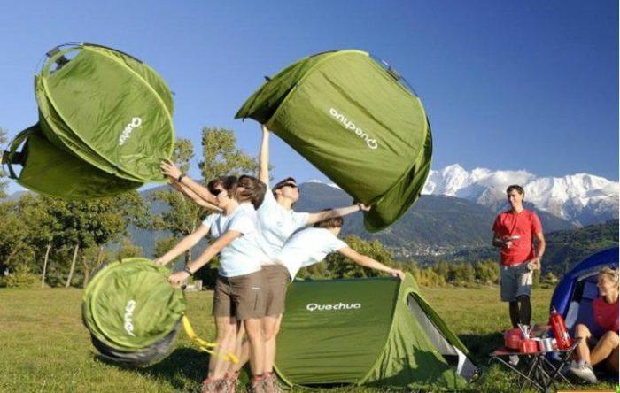 Quechua 2 SECONDS Tent для самых ленивых.