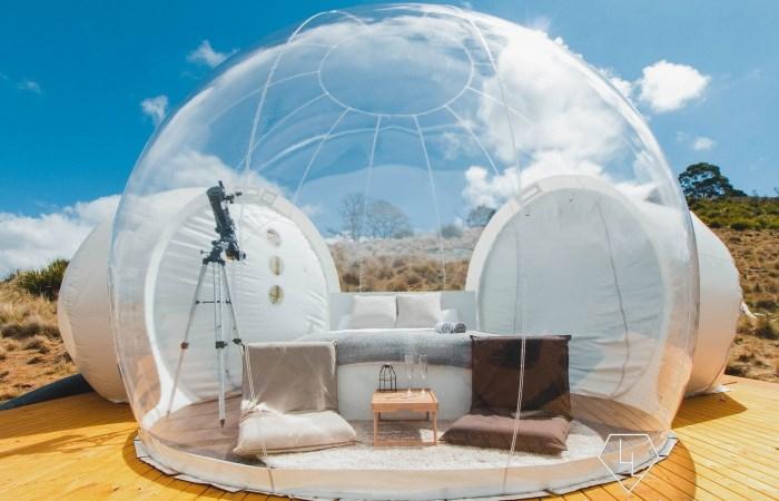 Самые необычные палатки для лета.