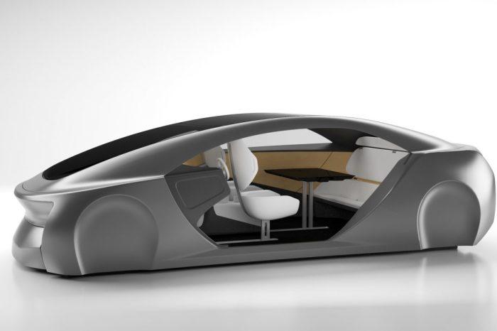 Японская компания Panasonic представила автомобильный салон будущего.