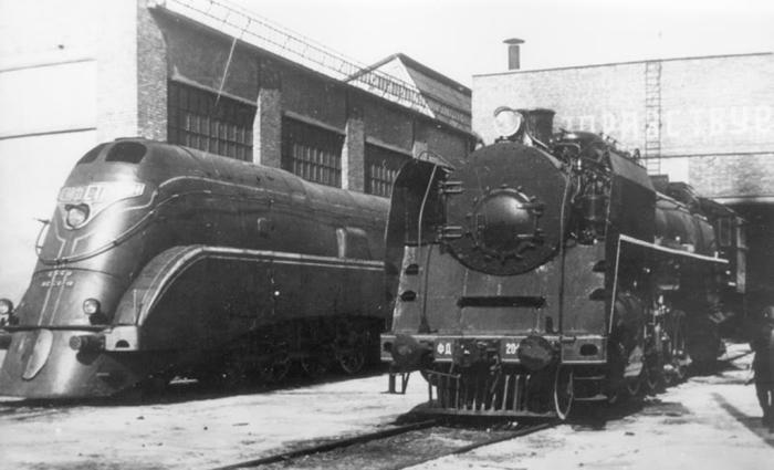 Спроектировали паровоз в начале 1930-х. /Фото: livejournal.com.