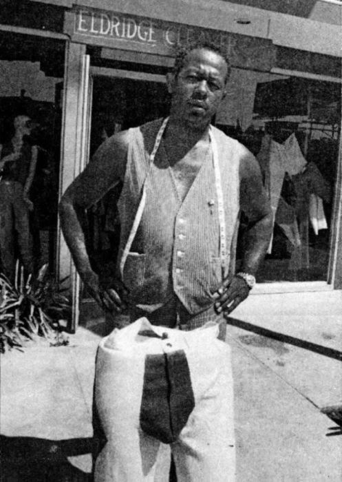 Первый прототип штанов.