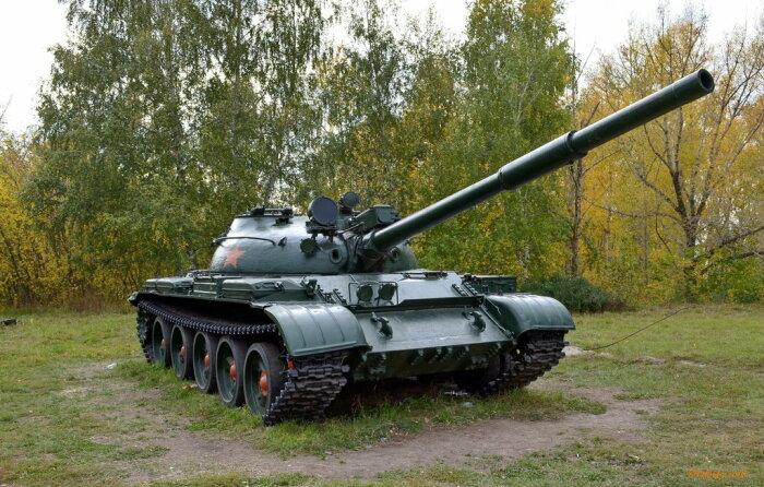 Первый танк с гладкой пушкой. livejournal.com.
