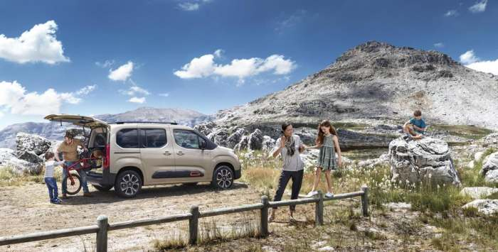 Peugeot Rifter 4x4 будет для всей семьи.