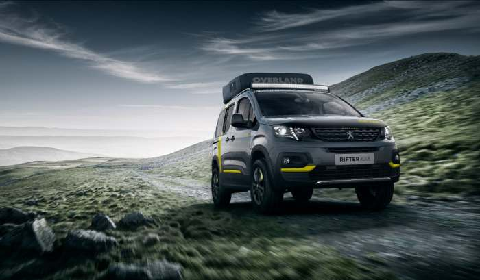 Peugeot Rifter 4x4 пройдет везде.