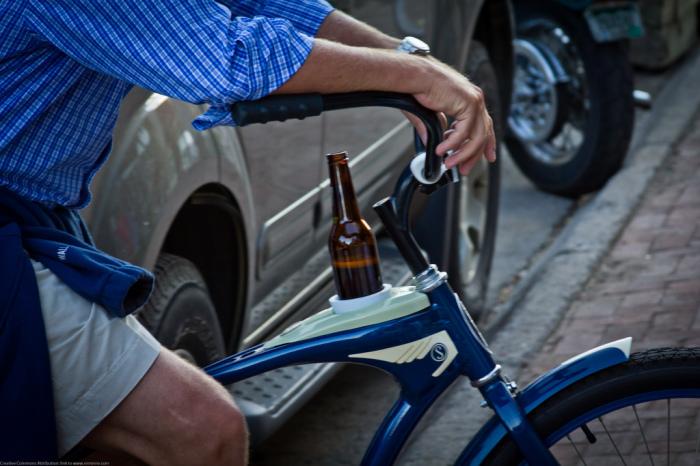 Можно ли ездить на велосипеде пьяным? |Фото: aroundprague.cz.