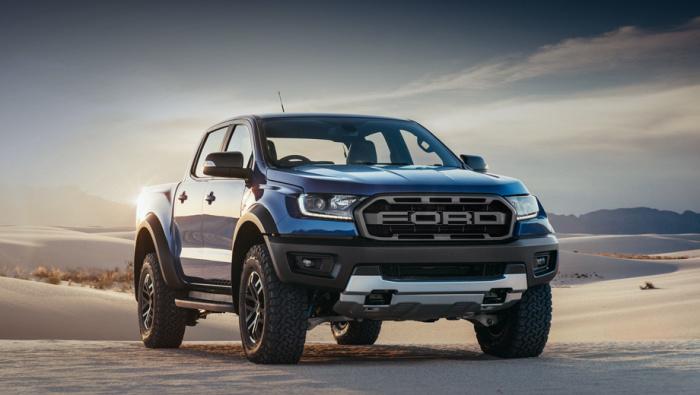 Гордый Ford Ranger для российской дороги.