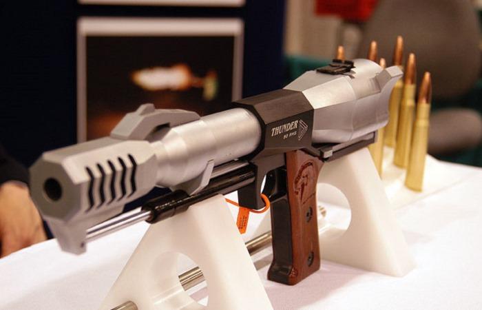 Пистолеты, которые мощнее пулеметов.