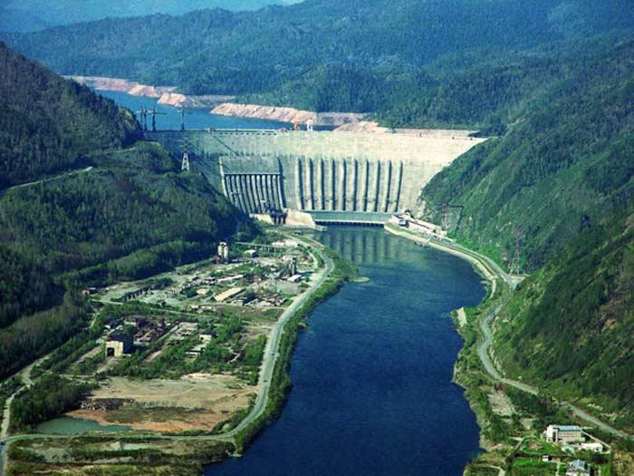 Саяно-Шушенская ГЭС воплощение мощи Советского Союза.
