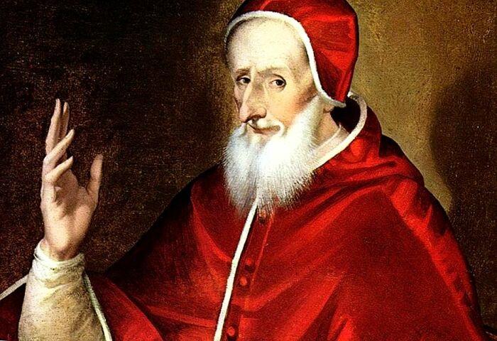 Пий Пятый - Папа Римский с бородой. /Фото: remnantnewspaper.com.