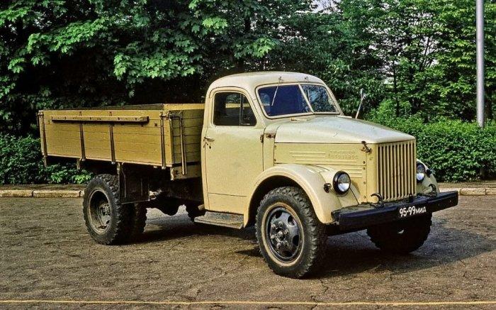 В основном это были грузовики. /Фото: yandex.ru.