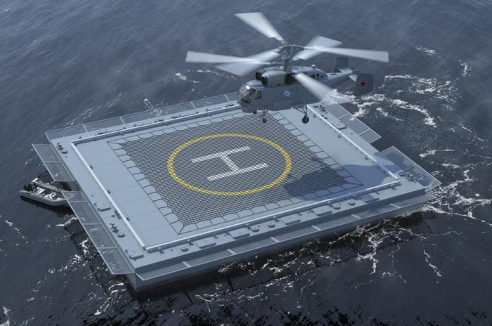 Вертолетные площадки одинаково обозначают во все мире. /Фото: ship.kampo.ru.