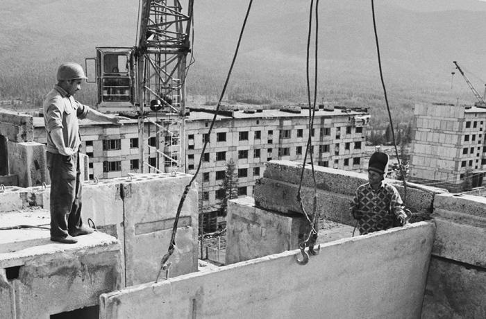 Жилищное строительство в СССР кипело с 1950-х годов. /Фото: vk.com.