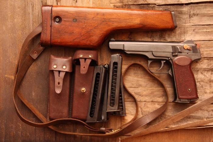 Главная проблема в том, что пистолет очень тяжелый. /Фото: warfor.me.