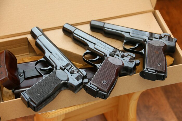 Разрабатывался пистолет еще в 1940-е. /Фото: osob.store.