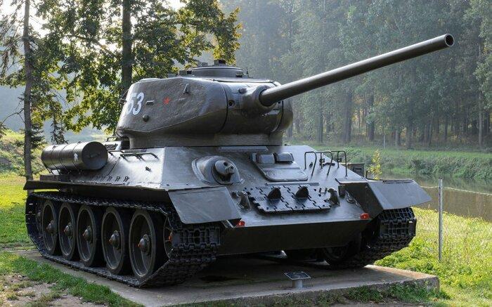Ситуация поменялась при разработке Т-34-85. /Фото: Twitter.