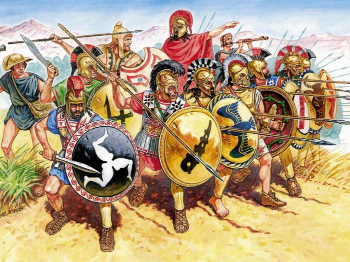 Все средиземноморские народы античности знали о том, как защитить руки и ноги. /Фото: goodfon.ru.