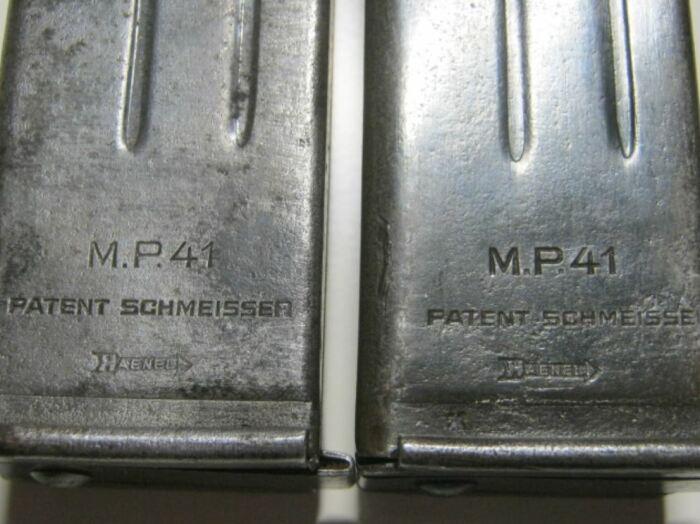 В Германии выпускались магазины под 9 мм патрон с клеймом Шмайссеров. /Фото: maxim.ru.
