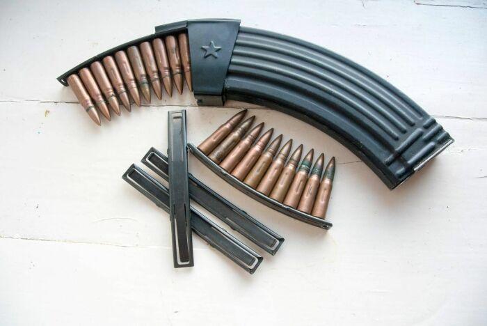 Рожком складываются компактнее. /Фото: guns.allzip.org.