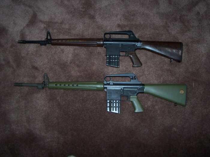 AR10 появилась раньше М16. /Фото: wikimedia.org.