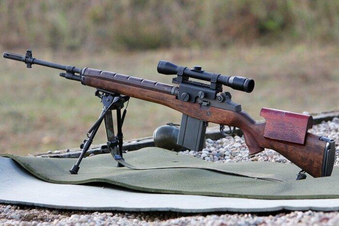 Автоматическая винтовка М14. /Фото: warfor.me.