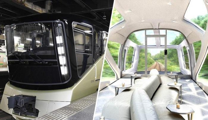 Ультра-роскошный японский поезд Shiki-Shima.