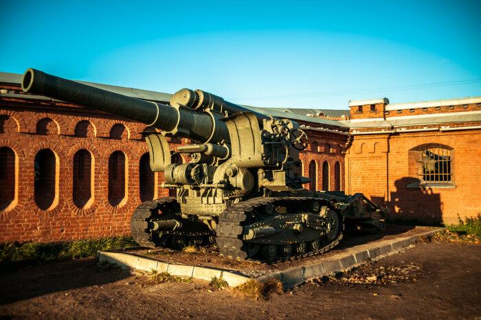 За основу была взята советская пушка. /Фото: fotokto.ru.