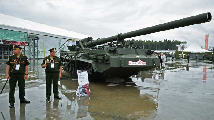 Пушка бьет на многие километры. /Фото: dfnc.ru.