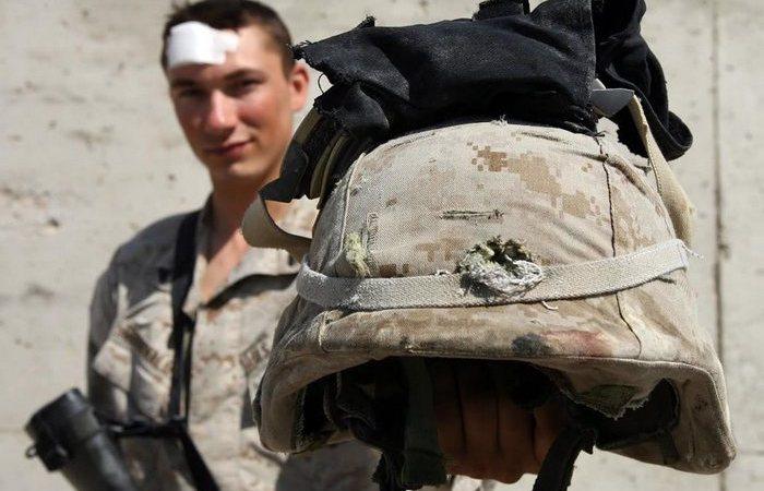 Что чувствует солдат, когда пуля попадает в каску