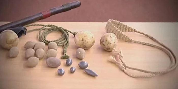 Метали камни и свинцовые пульки. /Фото: vk.com.