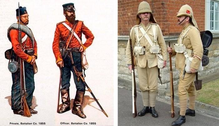 Британские колониальные войска.