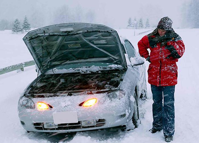 Завести машину может быть очень сложно. /Фото: Twitter.