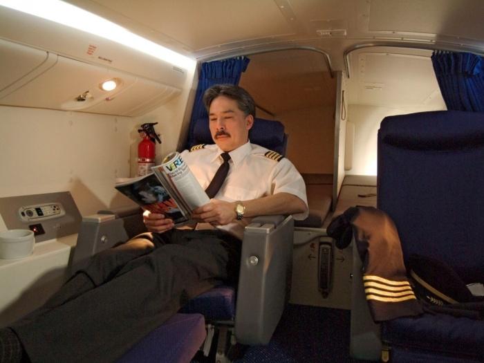 В зависимости от моделей самолетов эти комнаты очень разные. /Фото: fullpicture.ru.