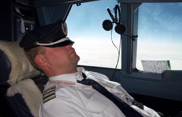 Где отдыхает экипаж во время длинных перелетов, если в самолете свободного