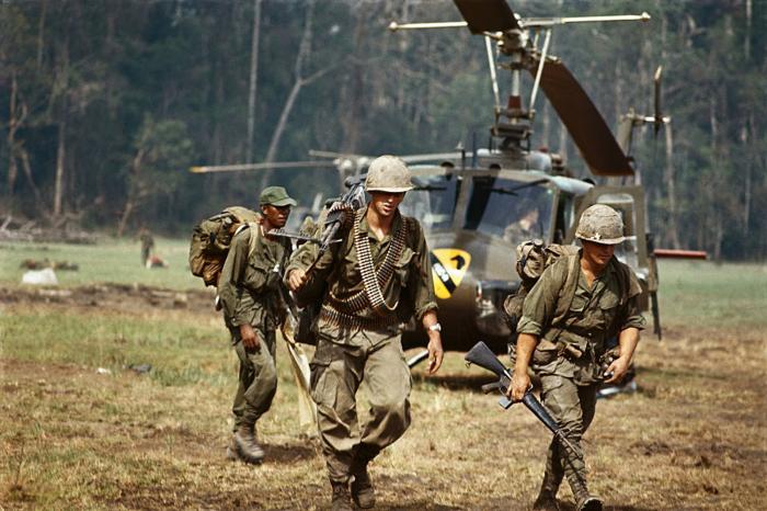 Судя по всему миф появился во время войны во Вьетнаме. /Фото: politforums.net.