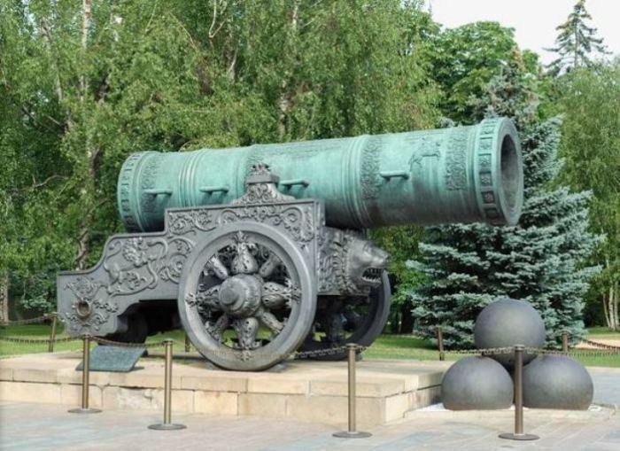 Царь Пушка стала символом.