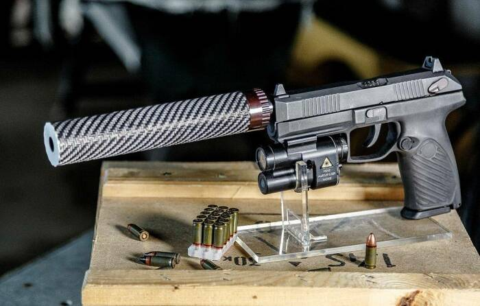 Не просто пистолет - стрелковый комплекс. /Фото: warfiles.ru.