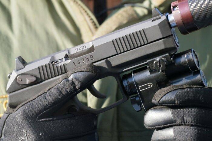 В первую очередь делался пистолет для армии. /Фото: Instagram.
