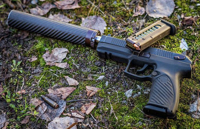 Крепкая хватка: что представляет собой самозарядный пистолет «Удав»