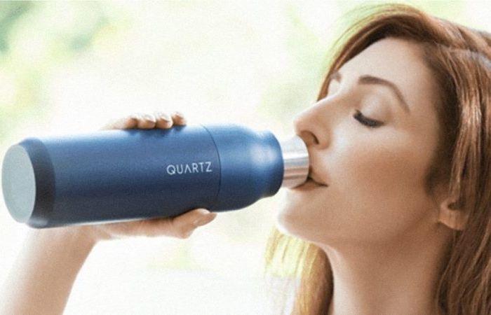 Бутылка для правильного утоления жажды.