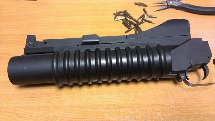 А вот гранатомет на автомате - американский. Чего уже быть не может. /Фото: blogspot.com.