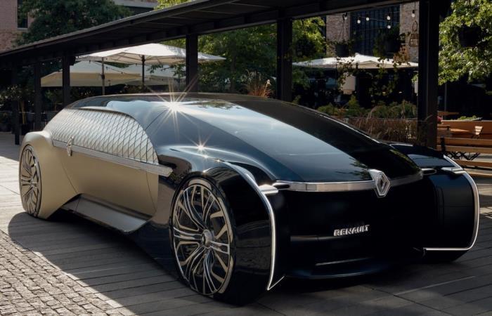 Концепт автомобиля будущего от Renault.