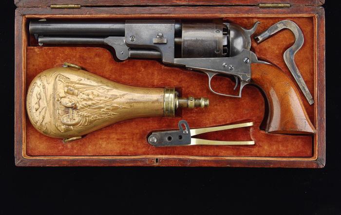 Грозный револьвер. /Фото: historypistols.ru.
